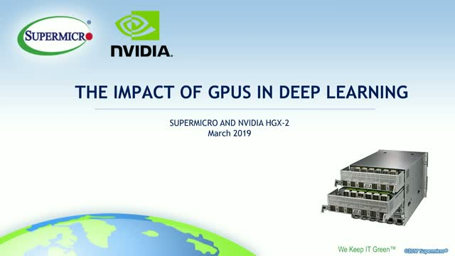 The Impact of GPU Solutions in Deep Learning & AI