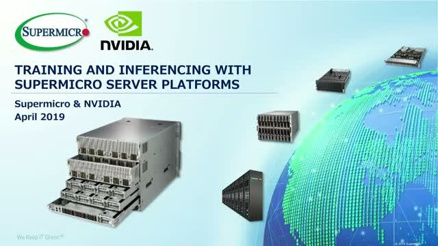 Train Your Model and Inference with Supermicro Server Platforms