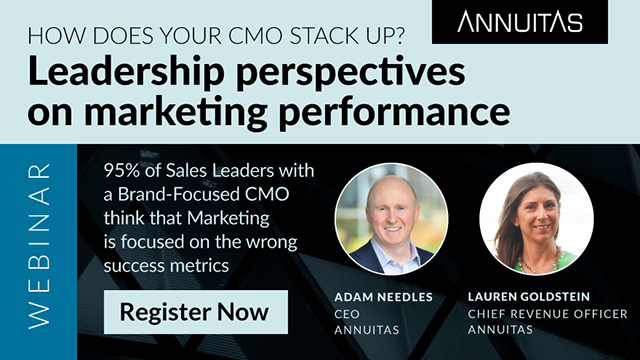 How does your CMO stack up? Leadership perspectives on marketing performance