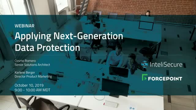 Applying Next-Generation Data Protection