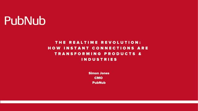 The Realtime Revolution: How Instant Connections Transform Products & Industries