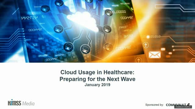 Cloud Usage in Healthcare: Preparing for the Next Wave
