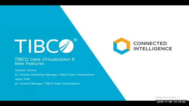 Introducing TIBCO Data Virtualization 8