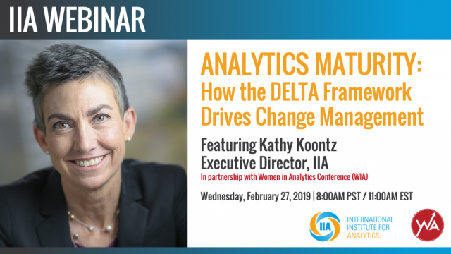 Analytics Maturity: How the DELTA Framework Drives Change Management