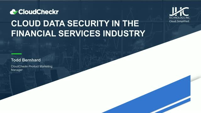 Cloud Data Security in the Financial Services Industry