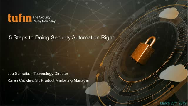 Expert Q&A 5 Steps to Implementing Security Automation