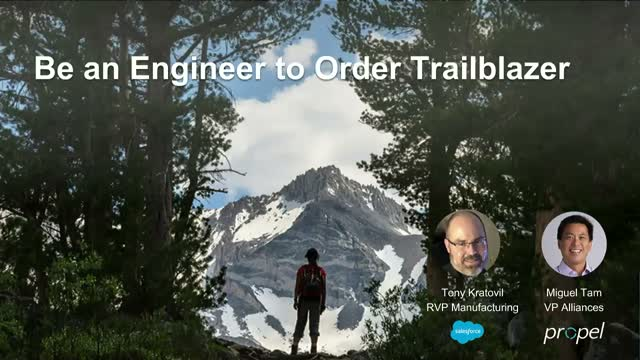 Be an ETO Trailblazer: How Salesforce and Partners Drive Digital Transformation