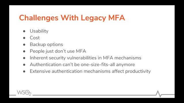 Why upgrade your MFA to Adaptive Authentication?