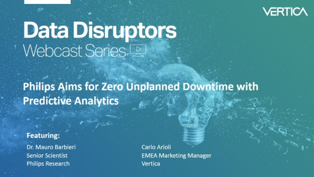 Philips Aims for Zero Unplanned Equipment Downtime with Predictive Analytics