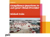 Compliance Questions to Ask Your Cloud Provider