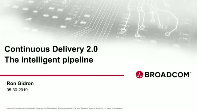 Continuous Delivery 2.0 - The Intelligent Pipeline