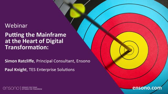 Putting the Mainframe at the Heart of Digital Transformation