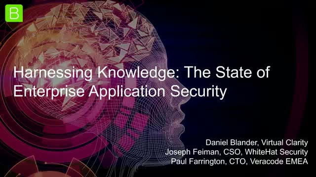 [Panel] Harnessing Knowledge: The State of Enterprise Application Security