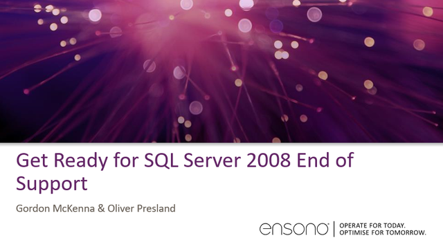 Get Ready for SQL Server 2008 End of Support