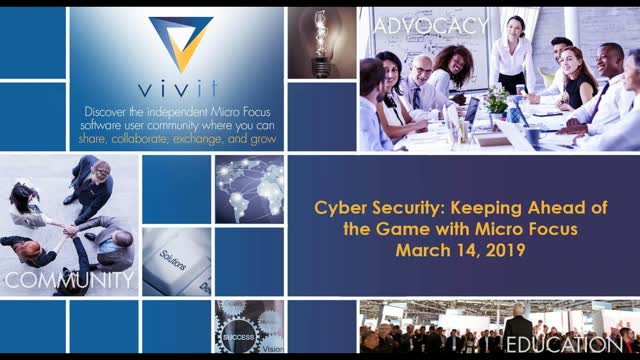 Cyber Security: Keeping Ahead of the Game with Micro Focus