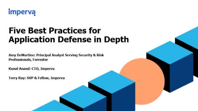 Five Best Practices for Application Defense in Depth