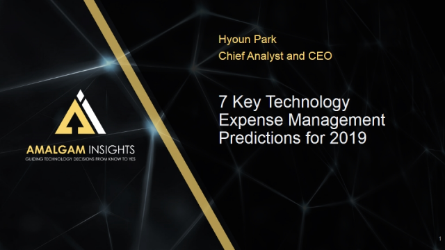 7 Key Technology Expense Management Trends for 2019