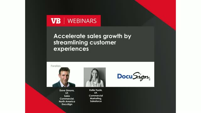 Accelerate Sales Growth by Streamlining Customer Experiences