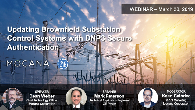 Updating Brownfield Substation Control Systems with DNP3 Secure Authentication