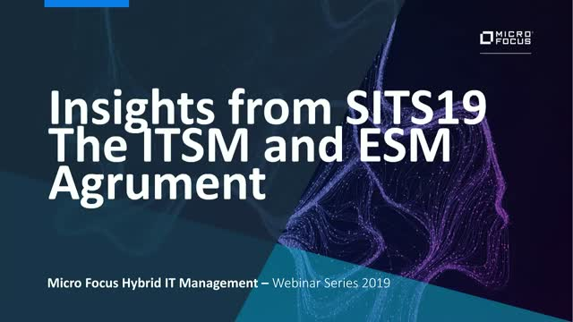 Insights from SITS (Service & IT Support Show) May 2019