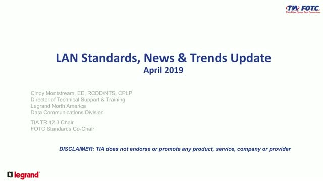 LAN Standards, News & Trends
