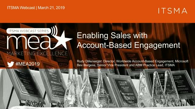 Enabling Sales with Account-Based Engagement