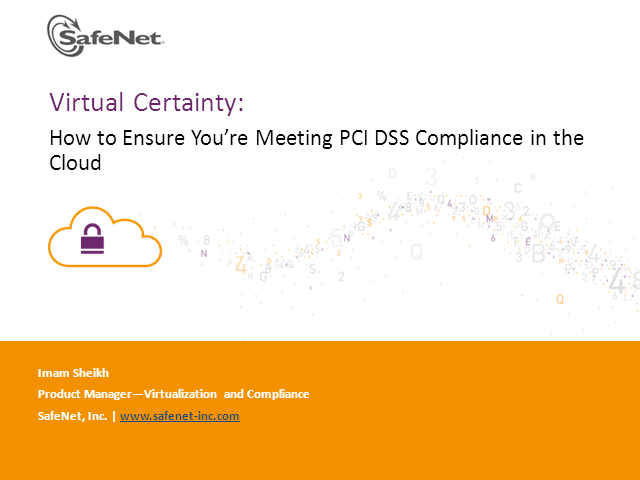 Virtual Certainty: How to Ensure You're Meeting PCI DSS Compliance