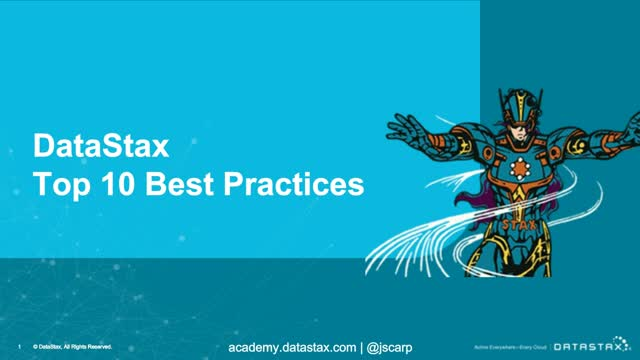 Top 10 Best Practices for Apache Cassandra and DataStax Enterprise