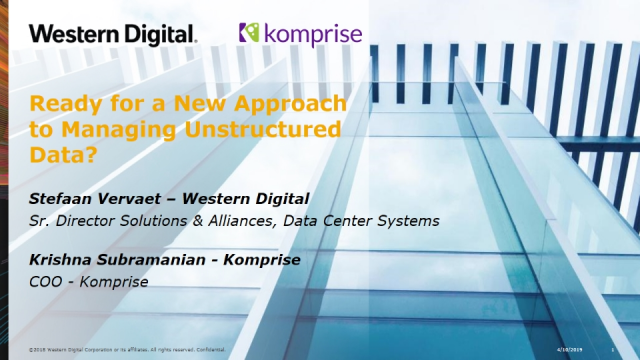 New Approach to Managing Unstructured Data