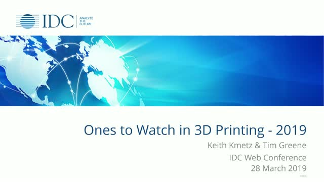 Ones to Watch in 3D Printing