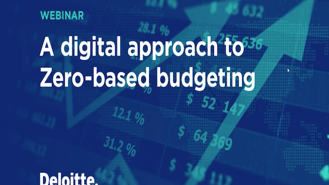 A digital approach to Zero-based budgeting