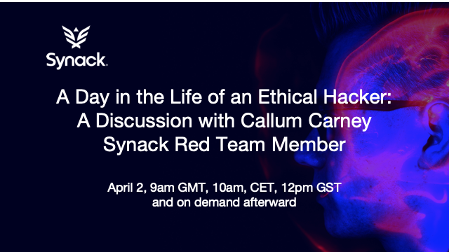 Day in the Life of an Ethical Hacker: A Discussion w/ Callum Carney, SRT Member