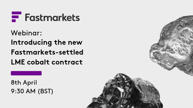 Introducing the new Fastmarkets-settled LME cobalt contract