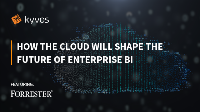 How the Cloud will shape the future of Enterprise BI