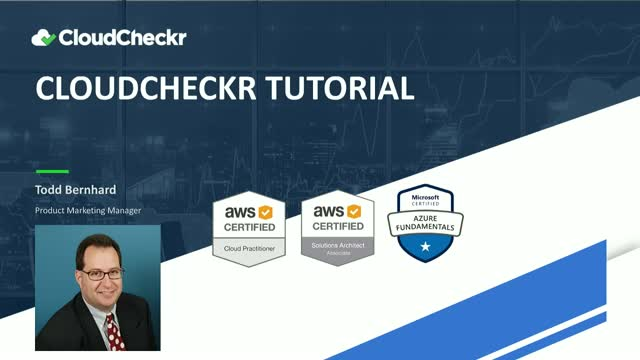 Live Tutorial: Stay Secure and Compliant in the Cloud with CloudCheckr