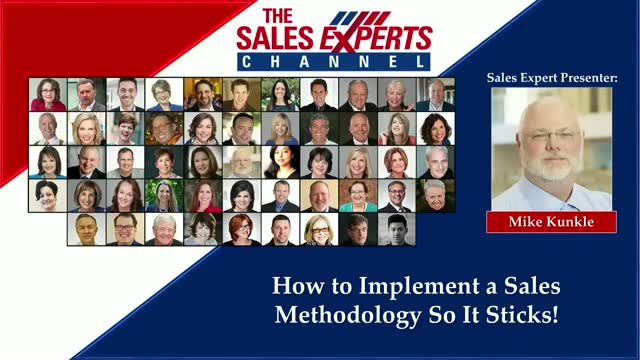 How to Implement a Sales Methodology So It Sticks!
