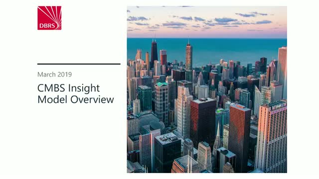 CMBS Insight Model Overview