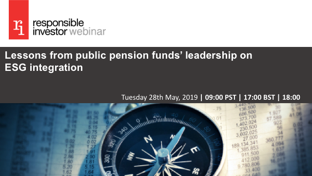 Lessons from public pension funds' leadership on ESG integration