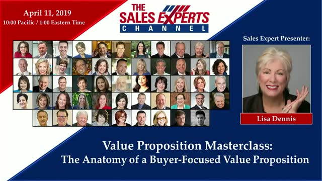 Value Proposition Masterclass:  The Anatomy of a Buyer-Focused Value Proposition