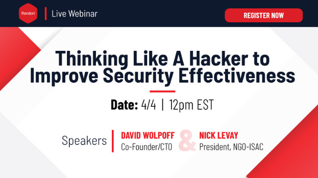Thinking Like A Hacker to Improve Security Effectiveness