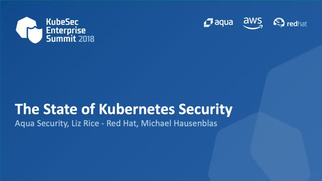 The State of Kubernetes Security