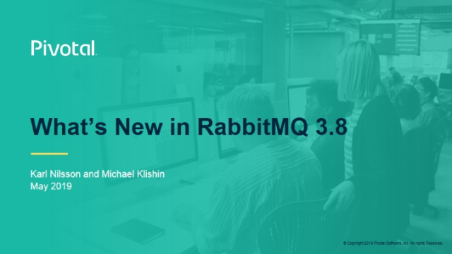 What's New in RabbitMQ 3.8?