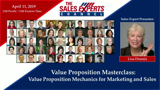 Value Proposition Masterclass:Value Proposition Mechanics for Marketing & Sales