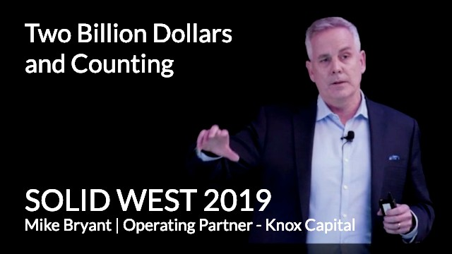 Two Billion Dollars and Counting: A SOLID Talk (February 28, 2019)