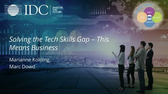 Solving the Tech Skills Gap – This Means Business!