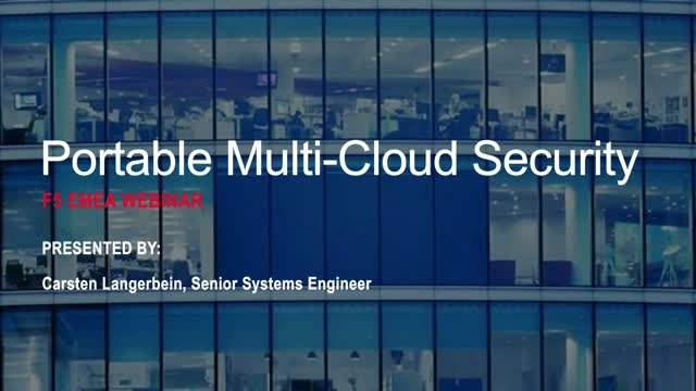 Vereinheitlichung der Security in Multi-Cloud-Umgebungen
