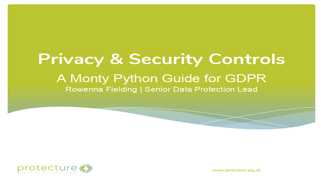 The Monty Python Guide to Privacy Controls