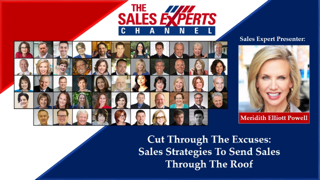 Cut The Excuses - Strategies To Send Sales Through The Roof