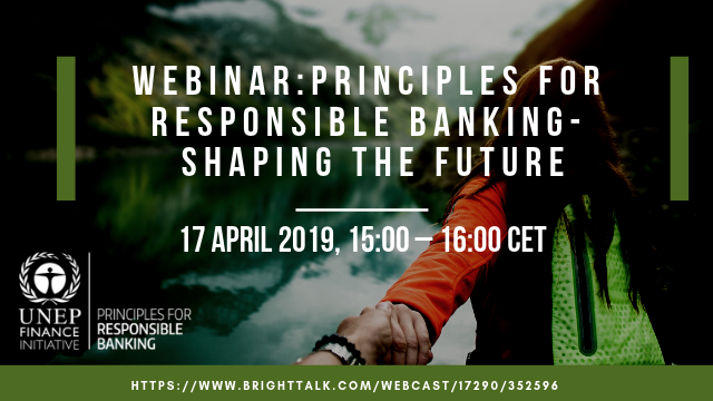 Principles for Responsible Banking: Shaping the Future