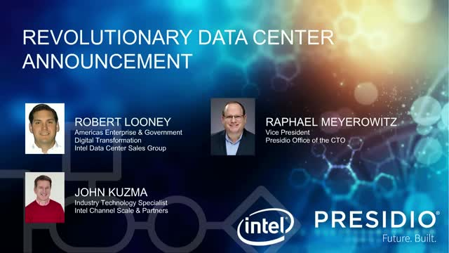 Revolutionary Data Center Announcement